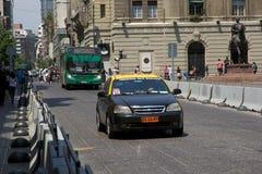 Transporte público no santiagode o Chile, o Chile Fotos de Stock