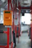 Transporte público, puncher del boleto Foto de archivo libre de regalías