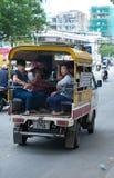 Transporte público, Saigon Foto de archivo