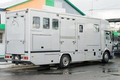 Transporte para los caballos Fotos de archivo libres de regalías
