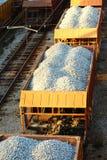 Transporte pelo trilho Foto de Stock Royalty Free