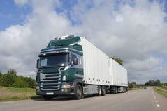 Transporte por caminhão Fotografia de Stock Royalty Free
