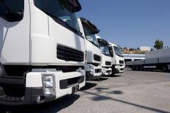 Transporte por caminhão e logística Imagem de Stock Royalty Free