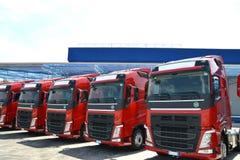 Transporte por caminhão e logística Imagens de Stock