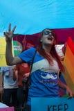 5 Transporte Pride March em Istambul Imagens de Stock