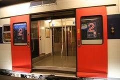 Transporte subterráneo Foto de archivo libre de regalías
