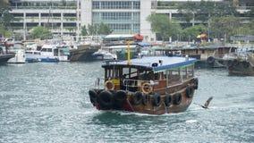 Transporte tradicional no ¼ ŒHong Kong de Aberdeenï Imagem de Stock Royalty Free
