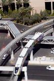 Transporte: Tren del monorrail Fotografía de archivo