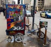 Transporte urbano Imágenes de archivo libres de regalías
