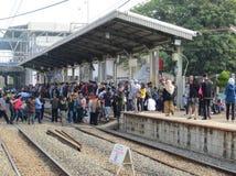 Transporte urbano de Jakarta imagen de archivo