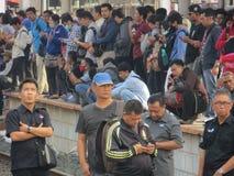 Transporte urbano de Jakarta imagenes de archivo