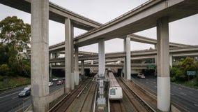 Transporte urbano em América imagem de stock