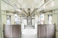 transporte velho do passageiro do trem fotografia de stock