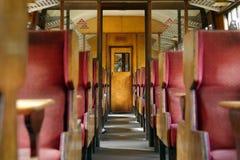 Transporte velho do trem, yorkshire, Inglaterra fotografia de stock