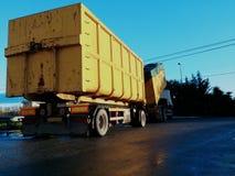 Transporte Waste Foto de Stock