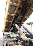 Transporte Waste em uns recipientes Imagens de Stock