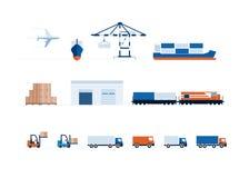 Transporte y entrega globales libre illustration