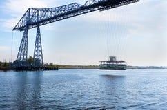 Transporter bridge Royalty Free Stock Image
