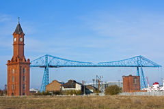 Transporter Bridge Middlesborough Stock Photography