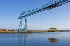 Transporter Bridge Middlesborough Royalty Free Stock Images