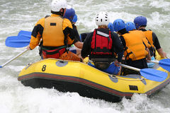 Transporter de Whitewater Image stock