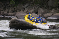 Transporter de Whitewater Photos stock