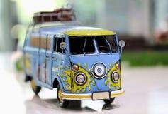 Transporter Toy Car Stock Photo