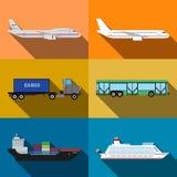 Transporterillustration Lizenzfreie Stockfotografie