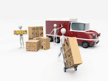 Transporters working Stock Photos