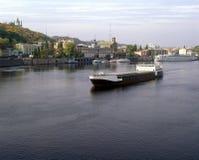 Transportes da carga do mar Fotografia de Stock