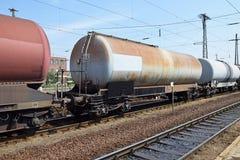 Transportes da estrada de ferro do óleo Imagens de Stock