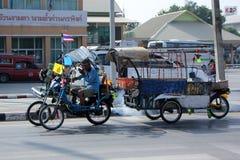 Transportes del reciclador Foto de archivo libre de regalías