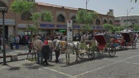 Transportes do mercado de Tehran filme