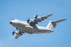Transporteur d'Airbus A400M Image stock