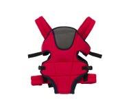 Transporteur de bébé rouge mignon Image libre de droits