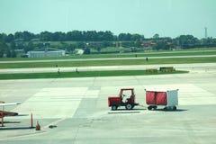 Transporteur de bagage Photo stock
