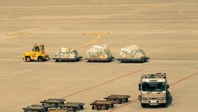 Transporteur de bagages Images libres de droits