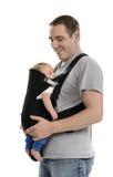Transporteur de bébé Images libres de droits