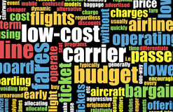 Transporteur de coût bas illustration libre de droits