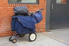Transporteur de courrier Bags Photo libre de droits