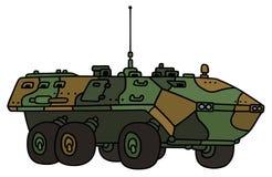 Transporteur de troupe de camouflage Images stock