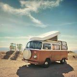 Transporteur de Volkswagen Vacances en Californie photographie stock