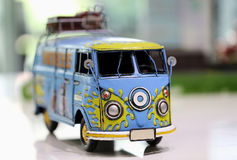 Transporteur Toy Car Photo stock