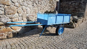 Transportez en charrette la roue Photographie stock