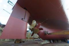 Transportez-vous dans le dock sec Photographie stock