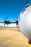 Transportflugzeug Lizenzfreies Stockfoto