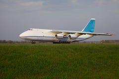 Transportflugzeug Lizenzfreies Stockbild