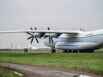 Transportflugzeug Antonows An-22 Lizenzfreie Stockfotografie