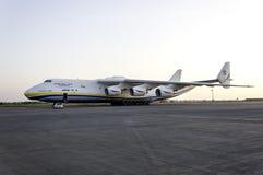 Transportflugzeug Antonows An-225 Mriya Stockbild