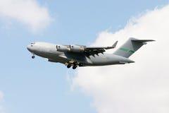 Transportflugzeug C-17 Stockbilder